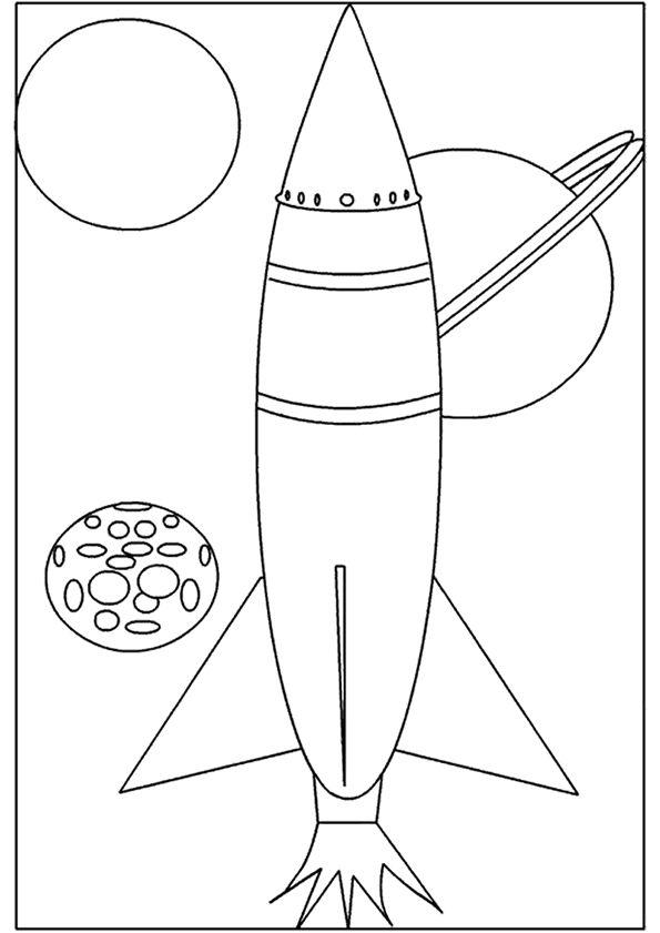 Kleurplaten Van Raketten.Pin Van Mariska Van Der Heide Op Te Land Ter Zee En In De
