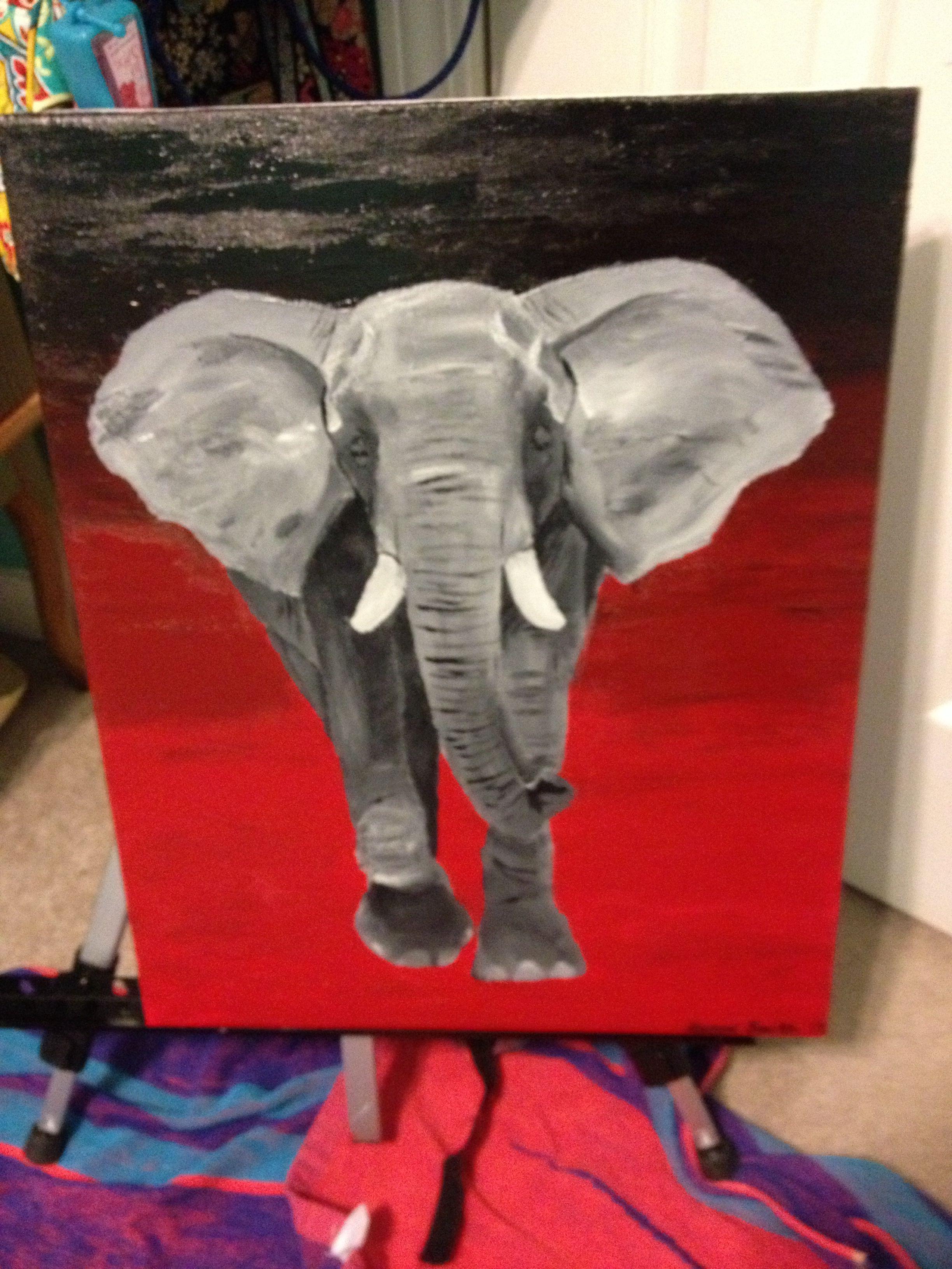 Elephant Painting Art