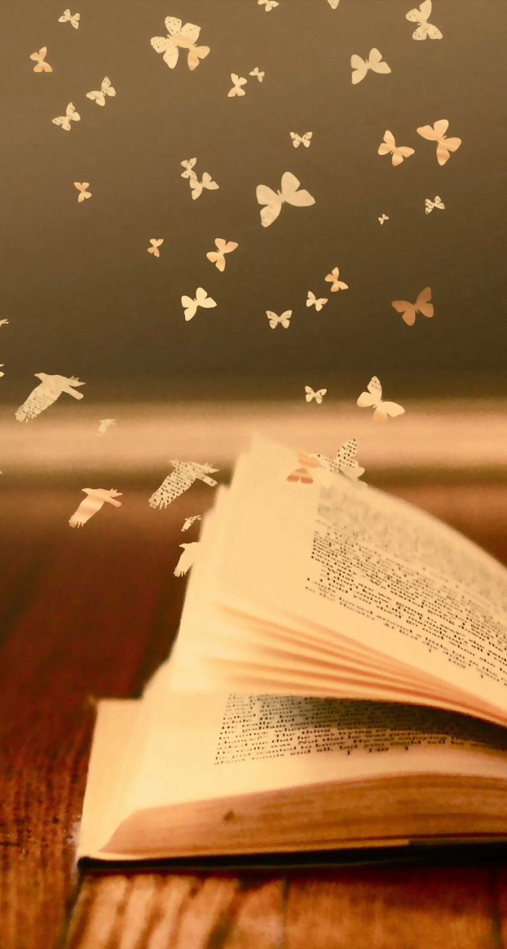Books Are Enchanting Arent They Ios7 Hd Wallpaper For