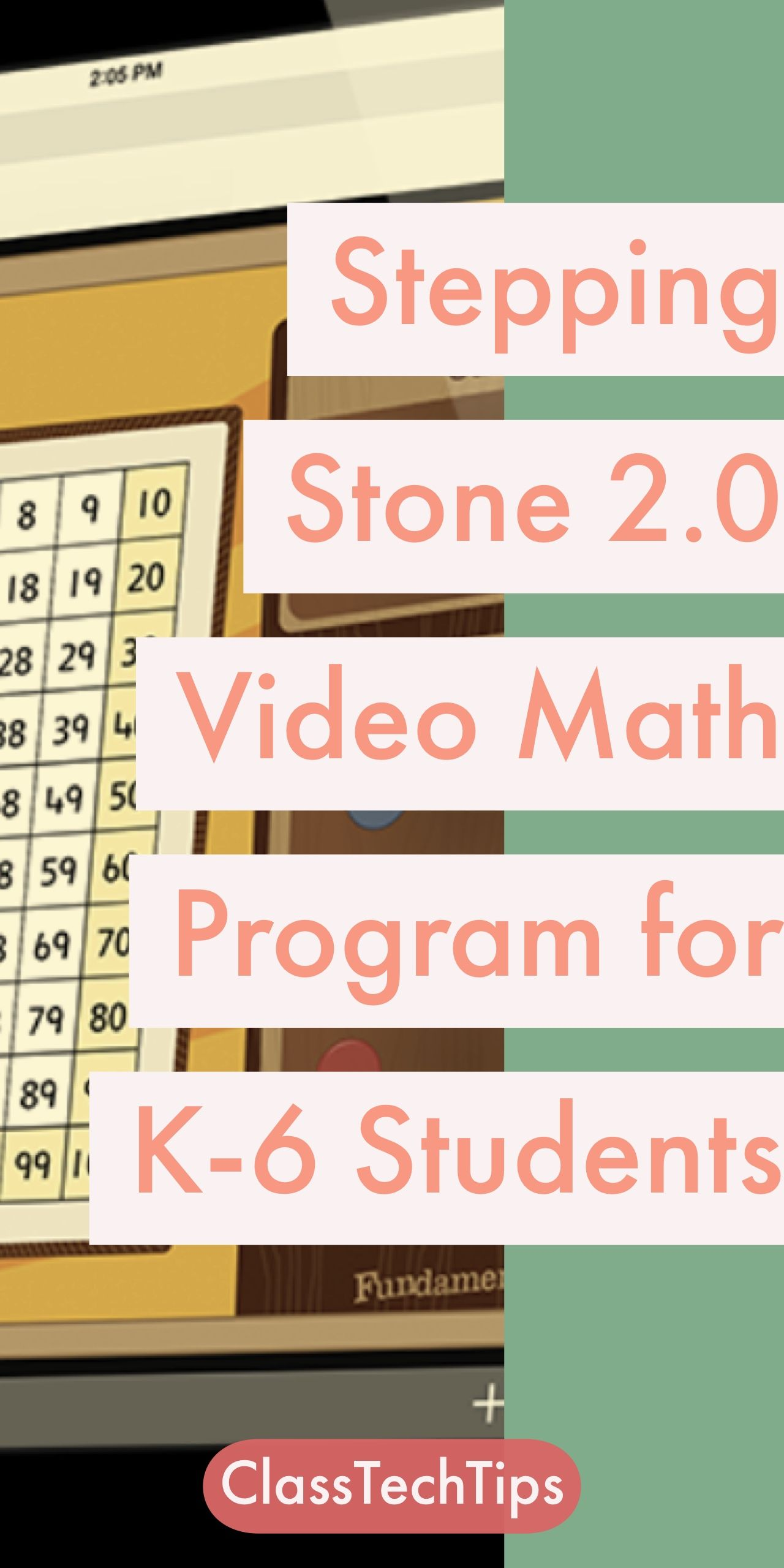 Stepping Stones 2.0 Video Math Program for K-6 Students ...