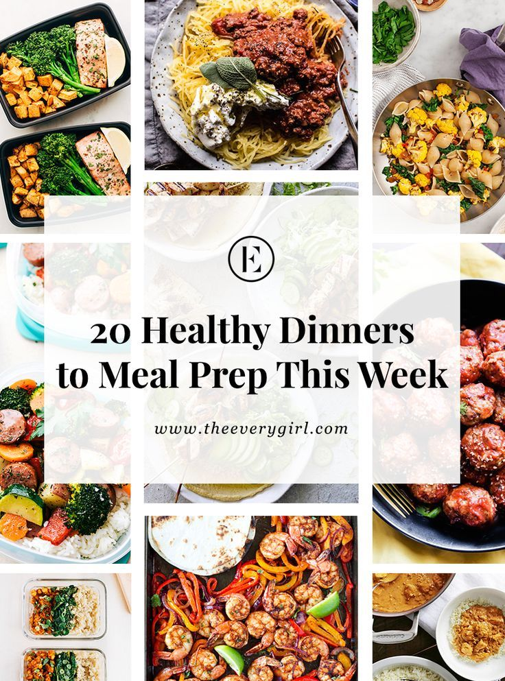 20 Healthy Dinners You Can Meal Prep on Sunday Healthy