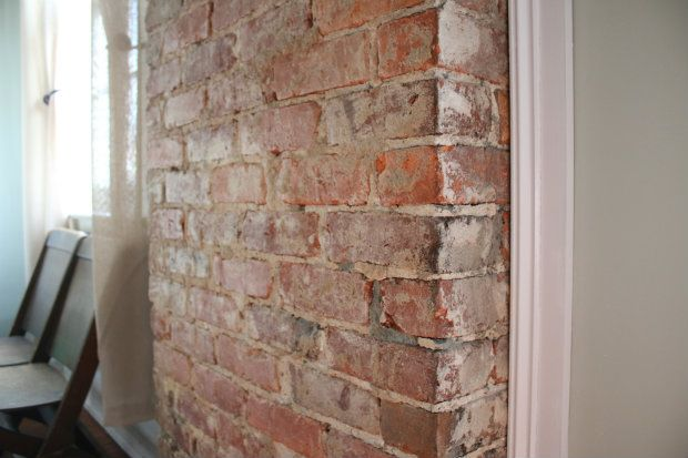 How To Remove Plaster From A Brick Chimney Ehow Brick Chimney Exterior Brick Painted Brick Walls