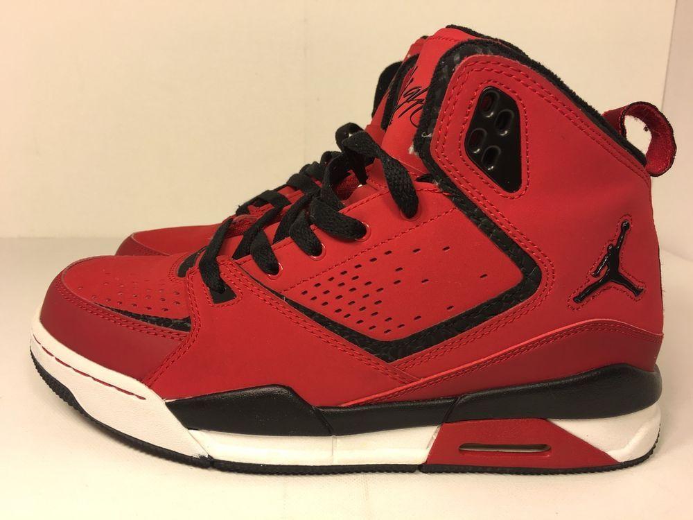 buy popular 1c656 13954 Nike Air Jordan SC 2 GS Boys Basketball Shoes 454088 601 Varsity Red 5 5Y  US   eBay