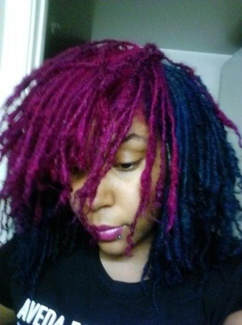 locs purple soo bad