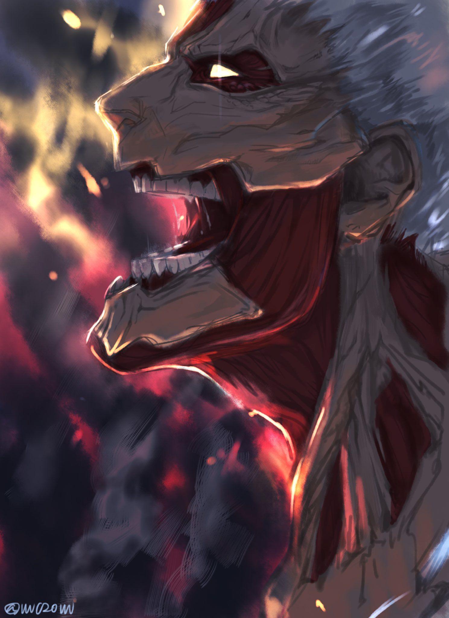 貝 on Twitter in 2020 Attack on titan episodes, Attack on