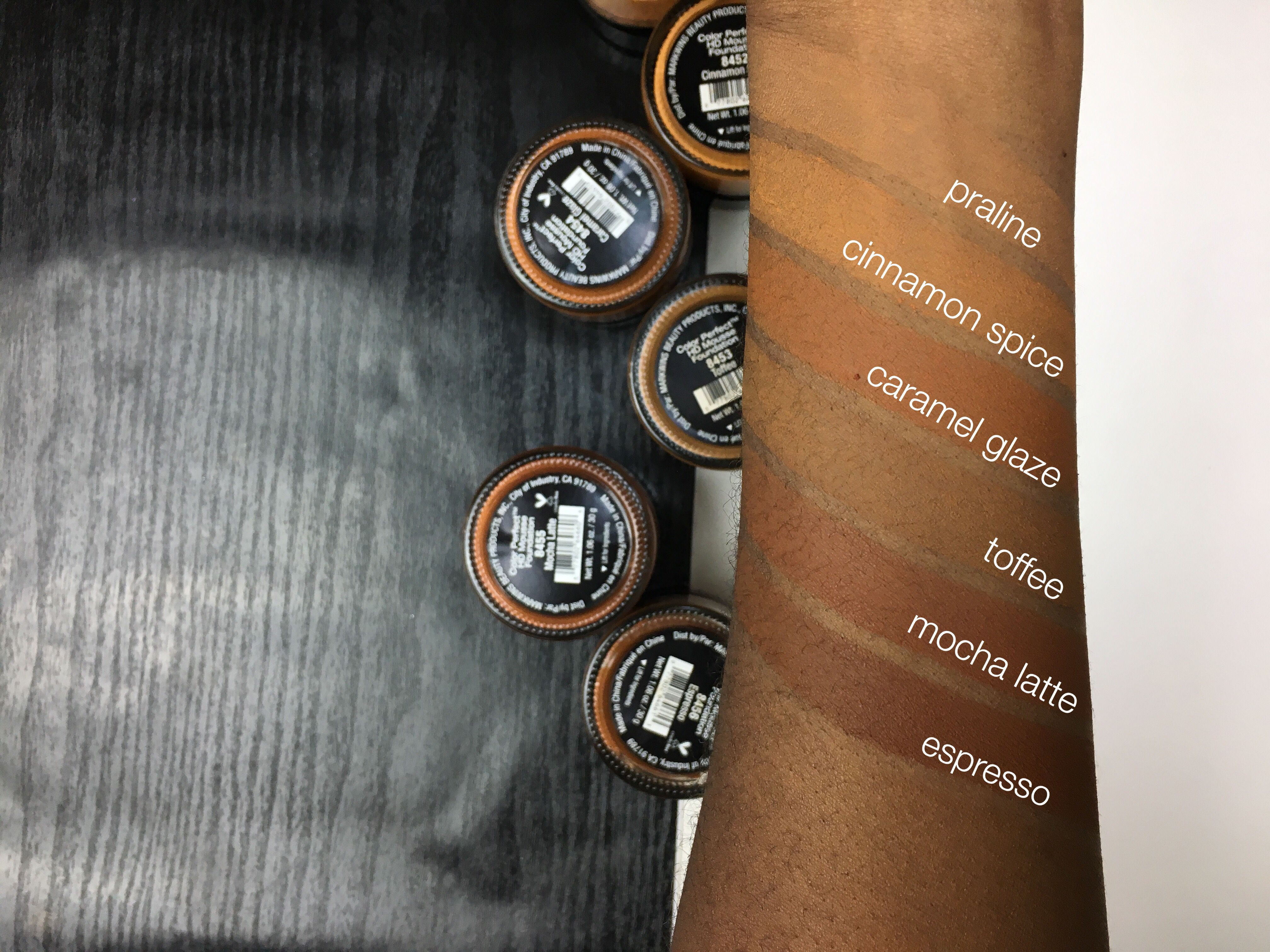 Black Radiance Hd Mousse Foundations Cocoaswatches Cocoa