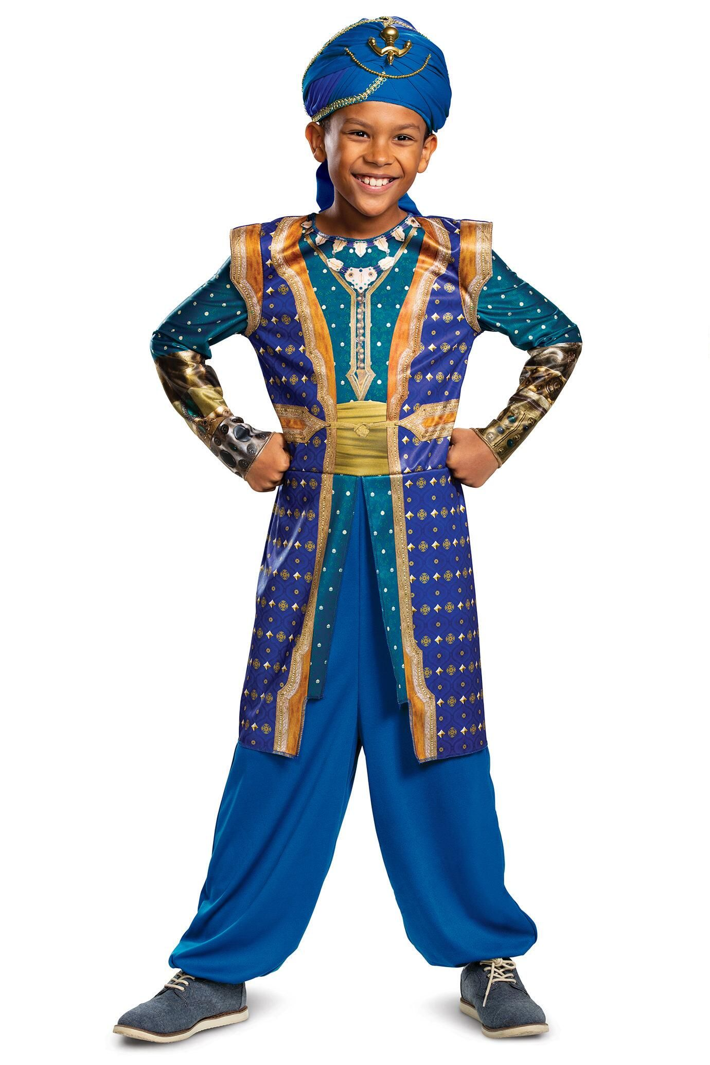 Genie Costume For Kids In 2020 Aladdin Genie Costume Classic