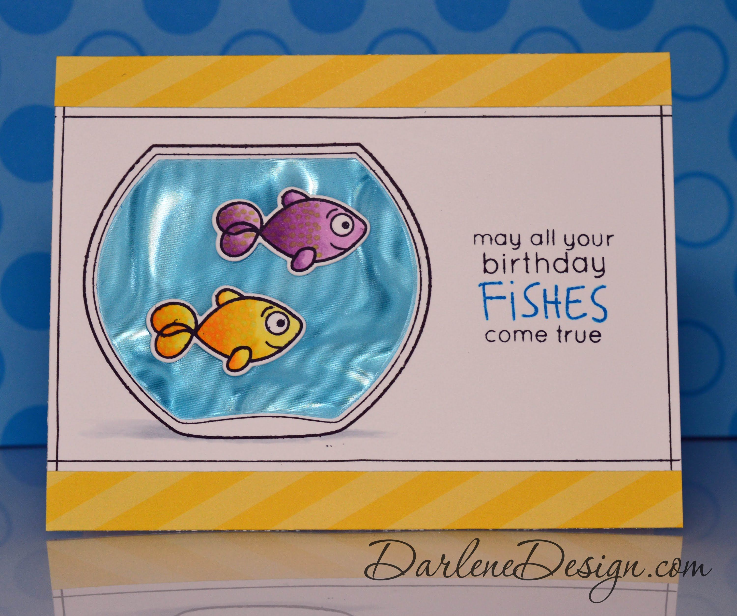 New special paper used for the water also nice to see how she card tutorials kristyandbryce Choice Image