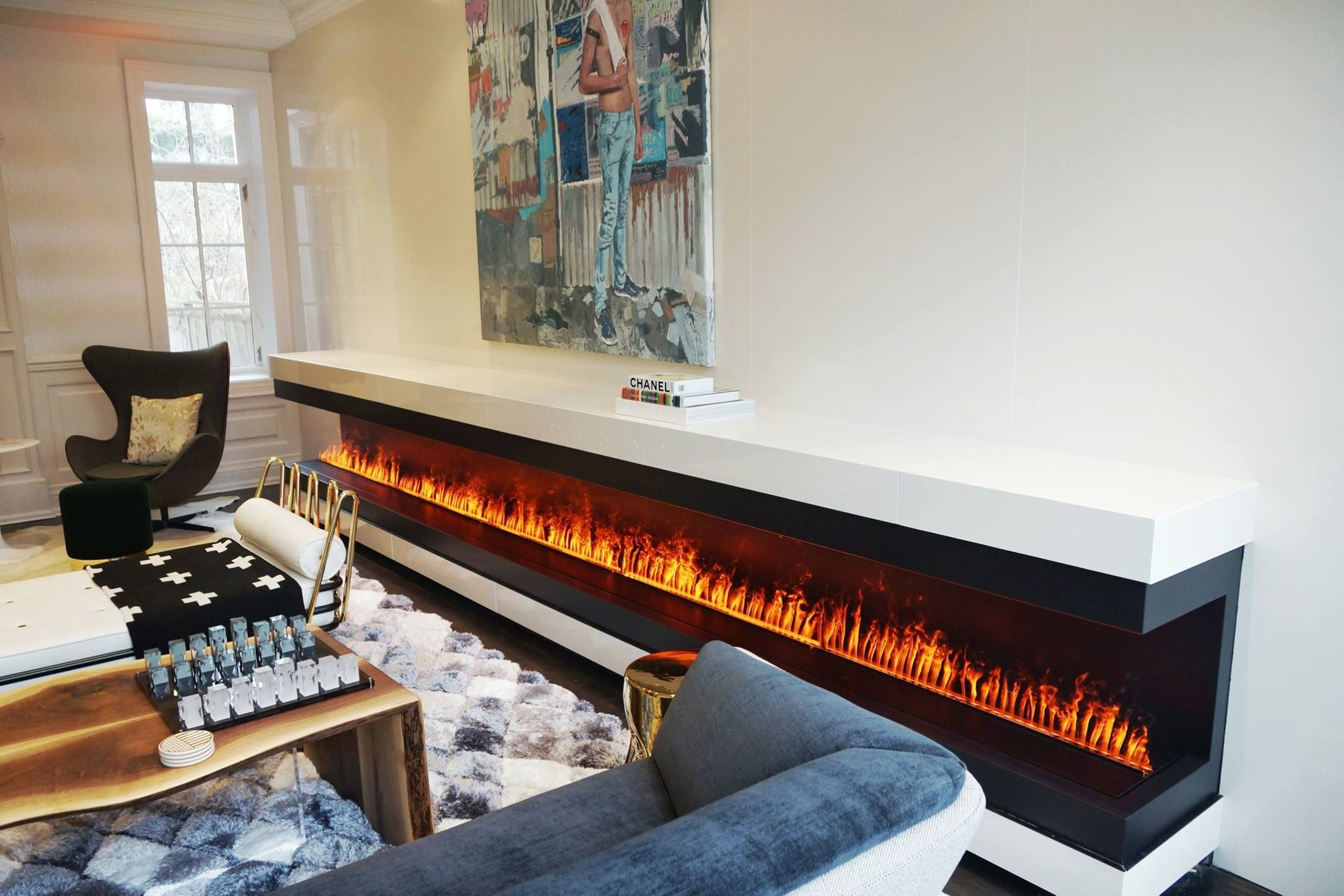 Linear Fireplace 17 Long Using The Revolutionary Ultrasonic