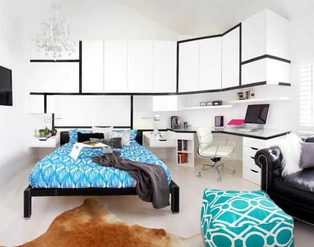Creative Bedroom Workspaces With Style And Practicality