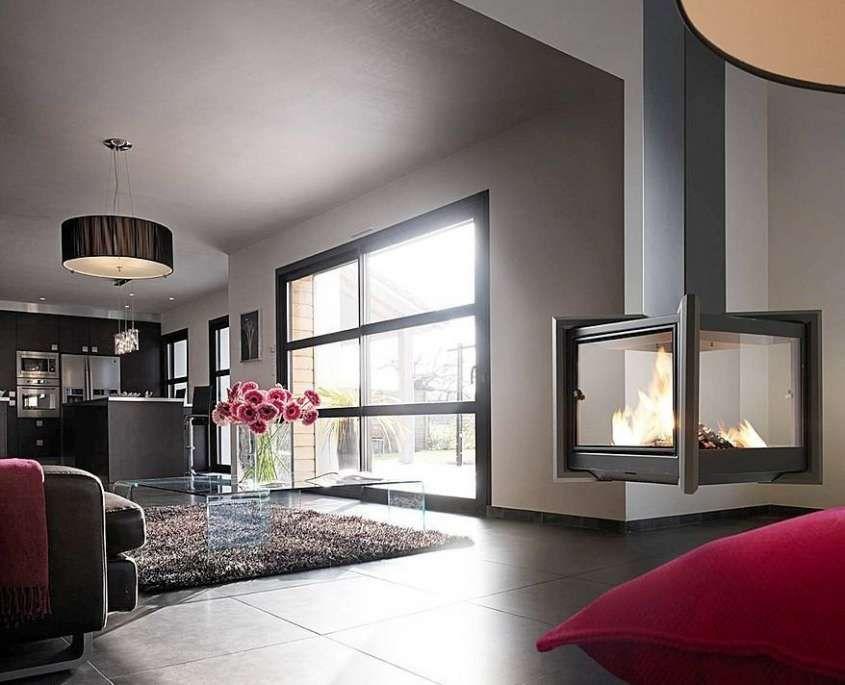 Regole per arredare il salotto - Salotto con camino moderno | Living ...