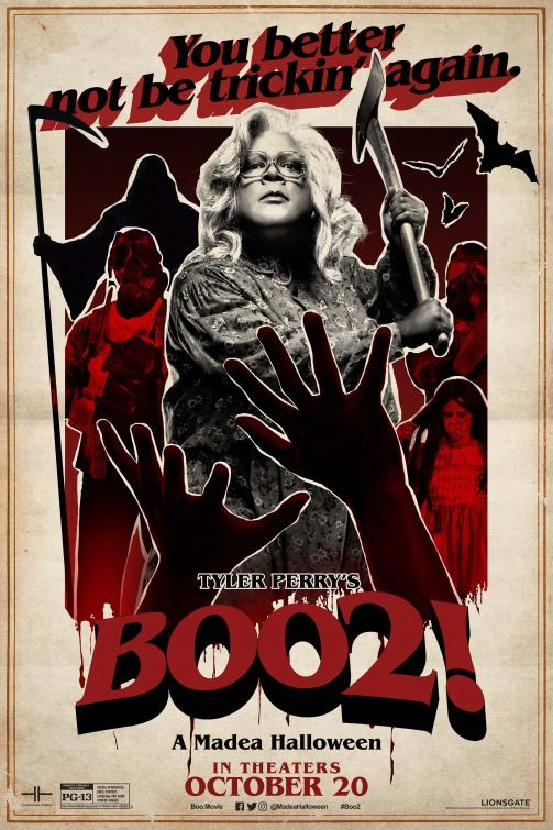 Click to View Extra Large Poster Image for Boo 2! A Madea Halloween - halloween poster ideas
