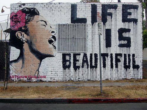 Graffiti Glamour Banksy Art