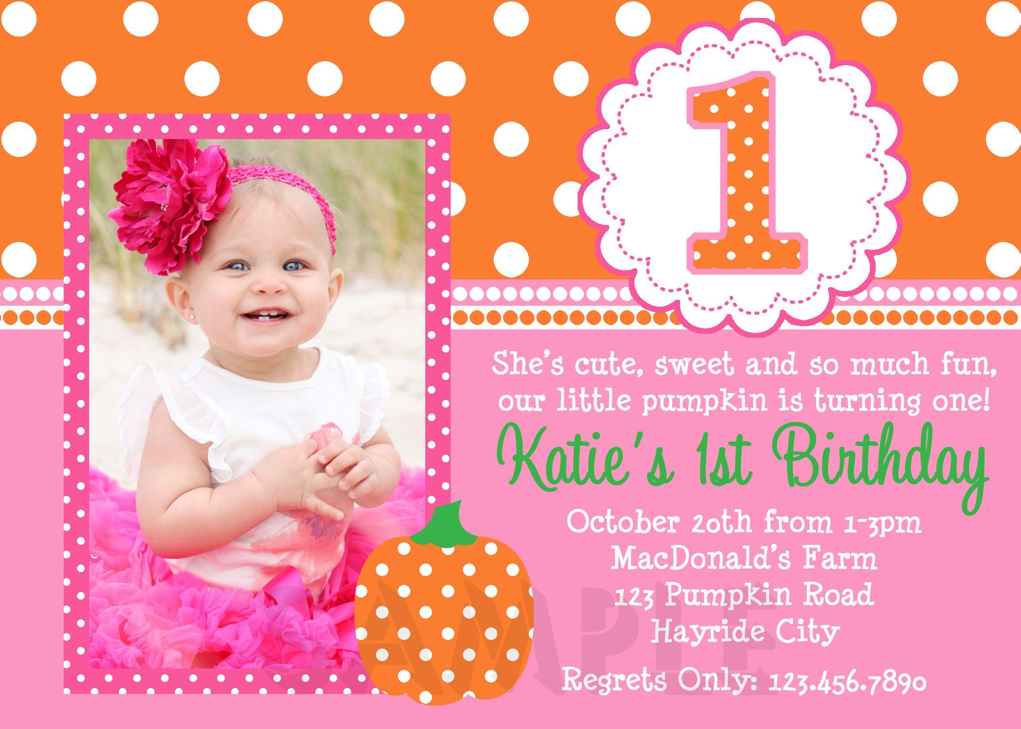 1st birthday invitations for girls free printable birthday