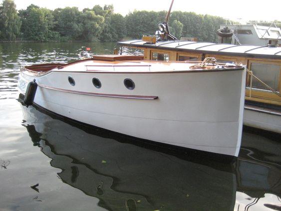 Bakdekker backdecker kreuzer marine pinterest for Klassisches hausboot
