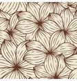 Vector Seamless texture of abstract flowers vector
