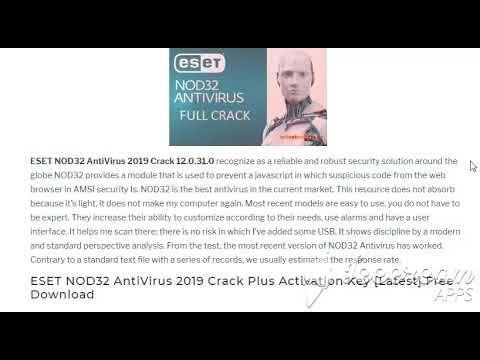 Licence key for eset nod32 2019 | Eset Smart Security license 2019