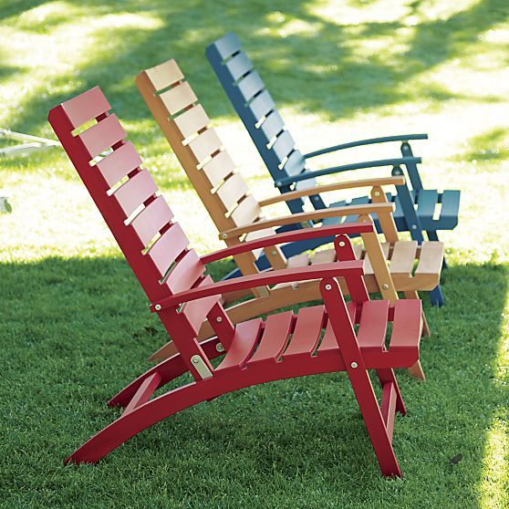 Captivating Brant Natural Folding Chair | Crate And Barrel. How About These For Inside?  Add