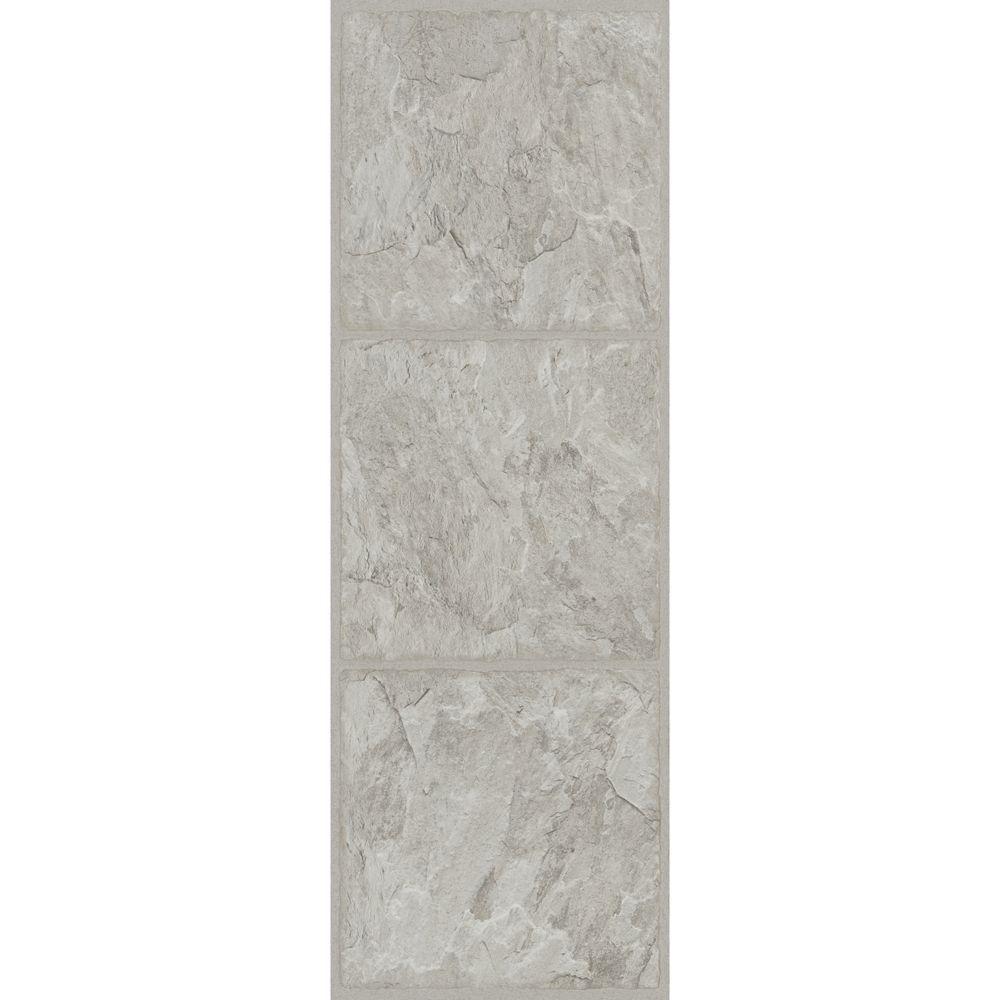 Trafficmaster allure 12 in x 36 in shale grey luxury vinyl tile trafficmaster 12 in x 36 in shale grey resilient vinyl tile flooring 24 dailygadgetfo Choice Image