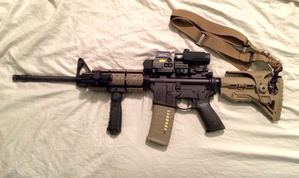 Ruger AR-556 with FDE Accessories | Guns | Ruger ar 556