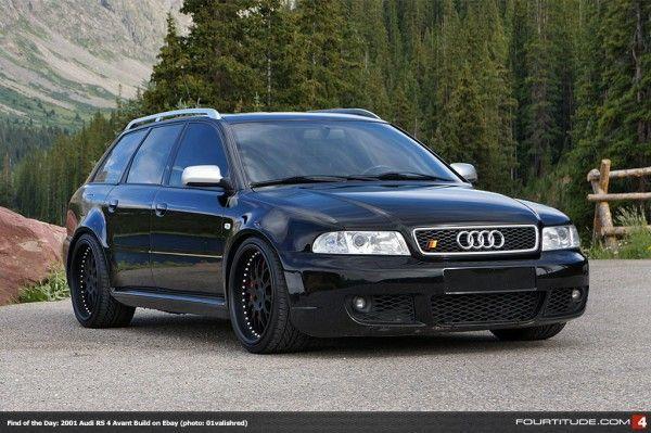 Fotd Audi Rs 4 Avant Build On Ebay Modified Custom Audi Audi