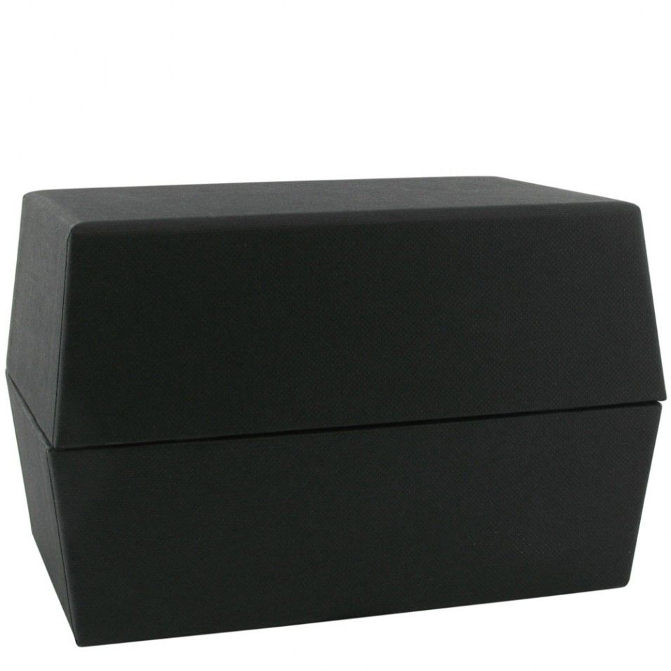 Index box with card dividers 5x3 card box index cards