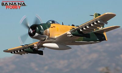 Oversize Camo A1 Skyraider RC Warbird Airplane - This is another RC plane I want to add to my collection.
