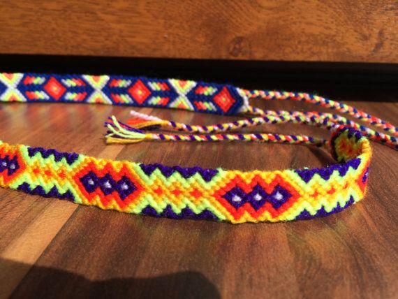 Handmade friendship bracelets hippy boho bff