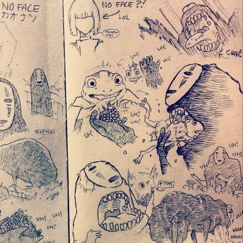 Studio Ghibli Drawing Book Cinebrique