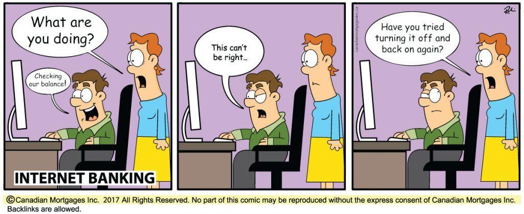 Internet Banking Real Estate Humor Underwriting Mortgage Banking
