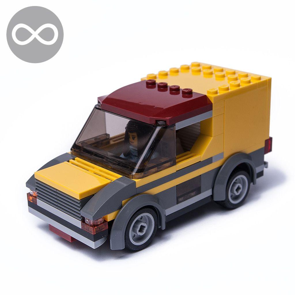 No Parts 60150 Lego Instructions Pizza Van New Toys Games
