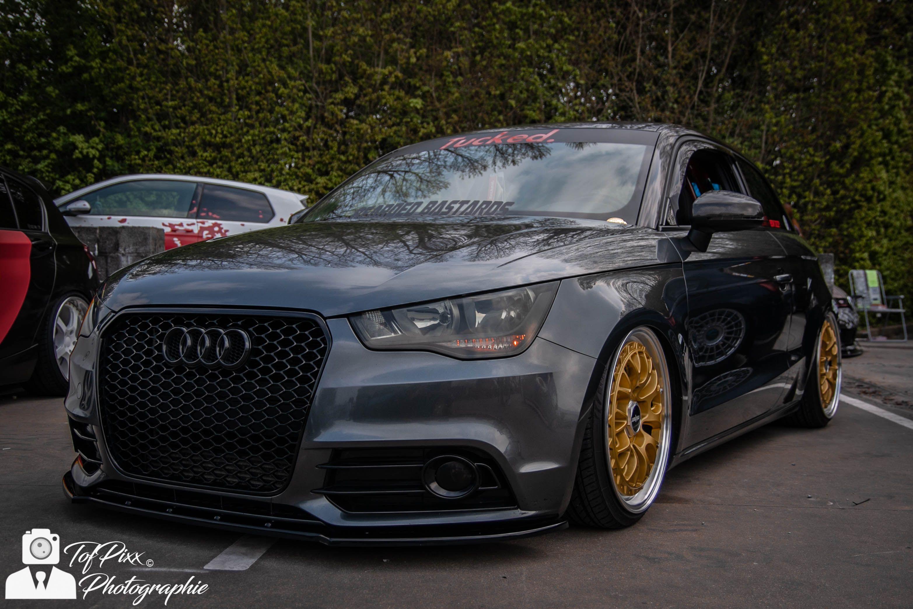 Audi a1 audia1 auto voiture cars airlift airride