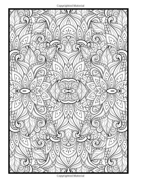 Advanced Coloring Designs: Coloring Book For Adults: Holly White:  9781511873192: Amazon.com… Pattern Coloring Pages, Floral Pattern Vector,  Mandala Coloring Pages
