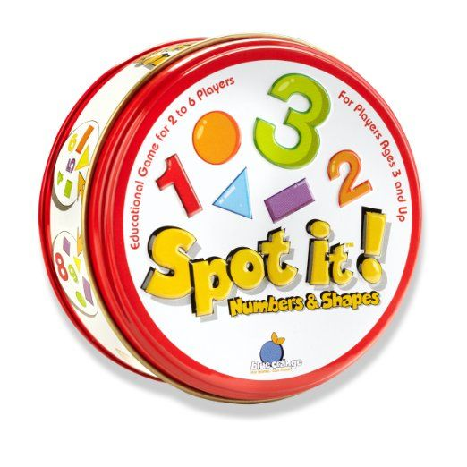 Spot It! Numbers and Shapes Toys \ Games Toys (Sept - creer maison 3d gratuit