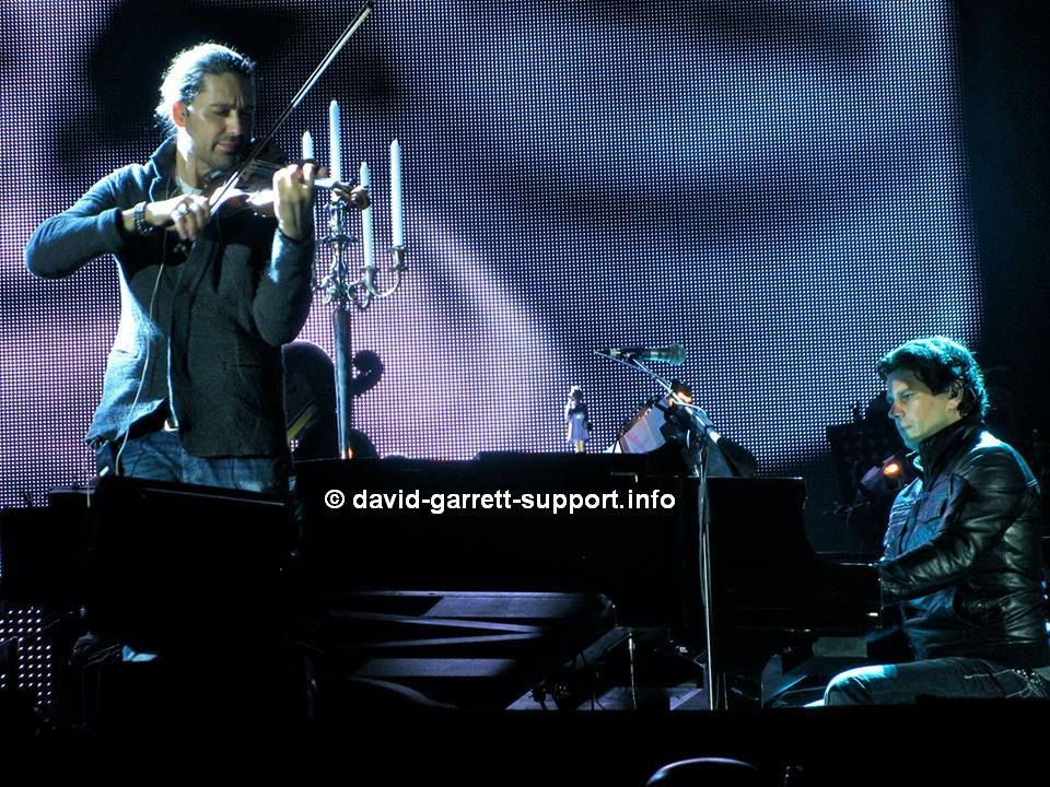 David Garrett - München - 01.06.2013 Thx Andreja!