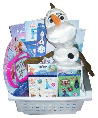Disney frozen olaf gift basket perfect for easter basket disney frozen olaf gift basket perfect for easter basket birthdays christmas or negle Image collections