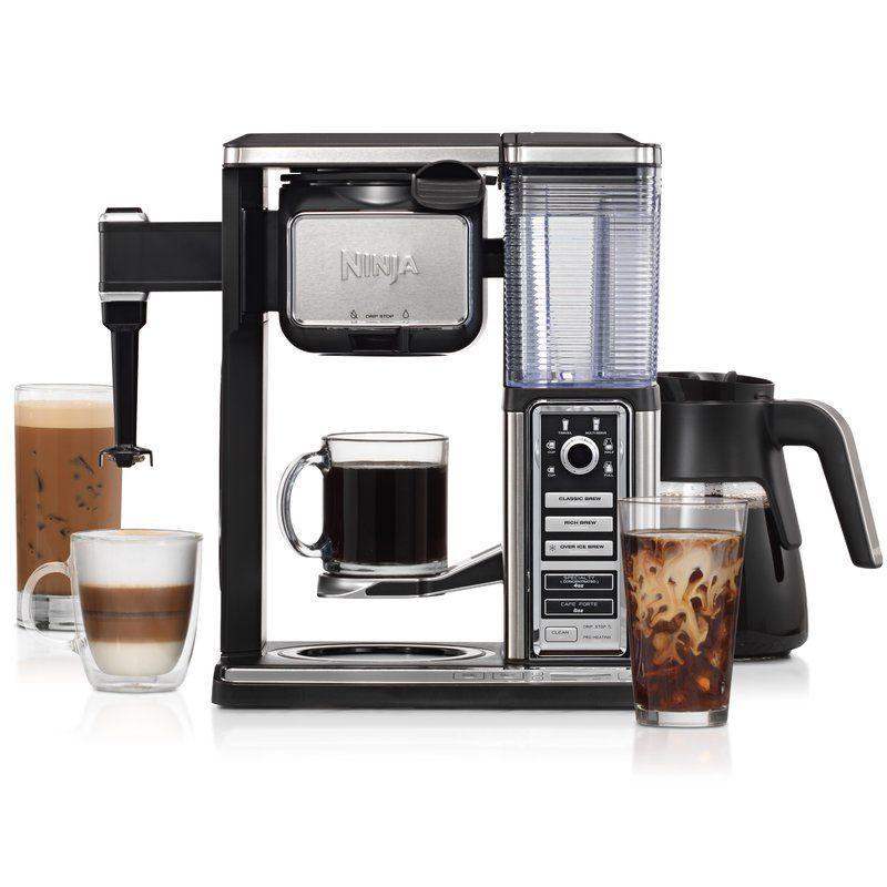 Ninja 10cup coffee maker cappuccinomachine ninja