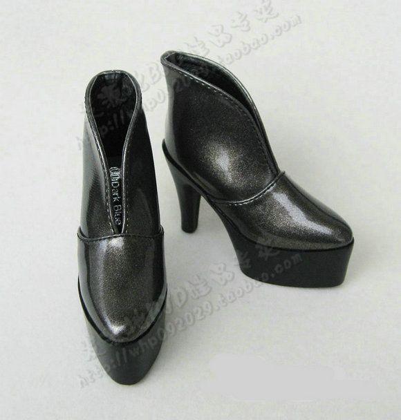 女款BJD/SD娃娃鞋子 3分/4分女娃厚底高跟皮鞋-SL054-淘宝网