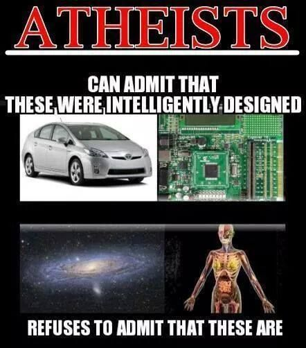 Keep stating the truth! God will eventually show his power, but at that point it will be far too late for the atheists to believe!