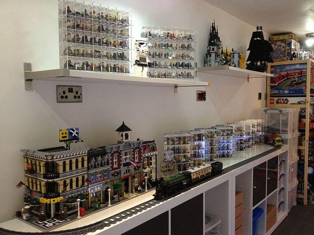 Displaying Geeky Things Lego Storage Lego Room Lego Shelves