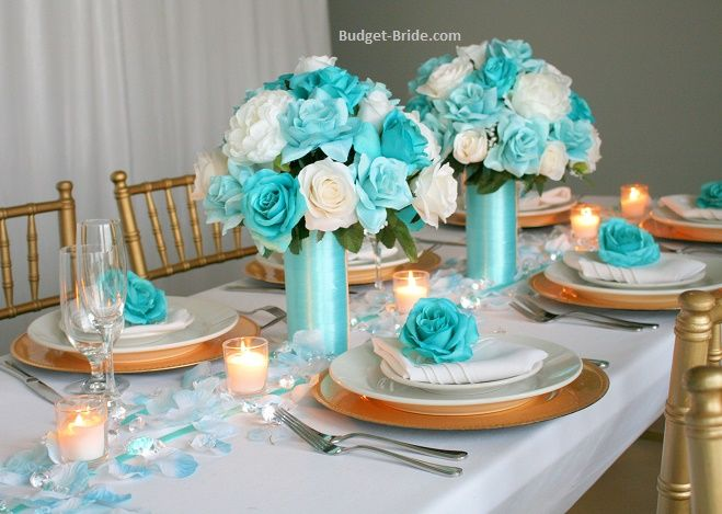 30+ Top For Aqua Centerpieces