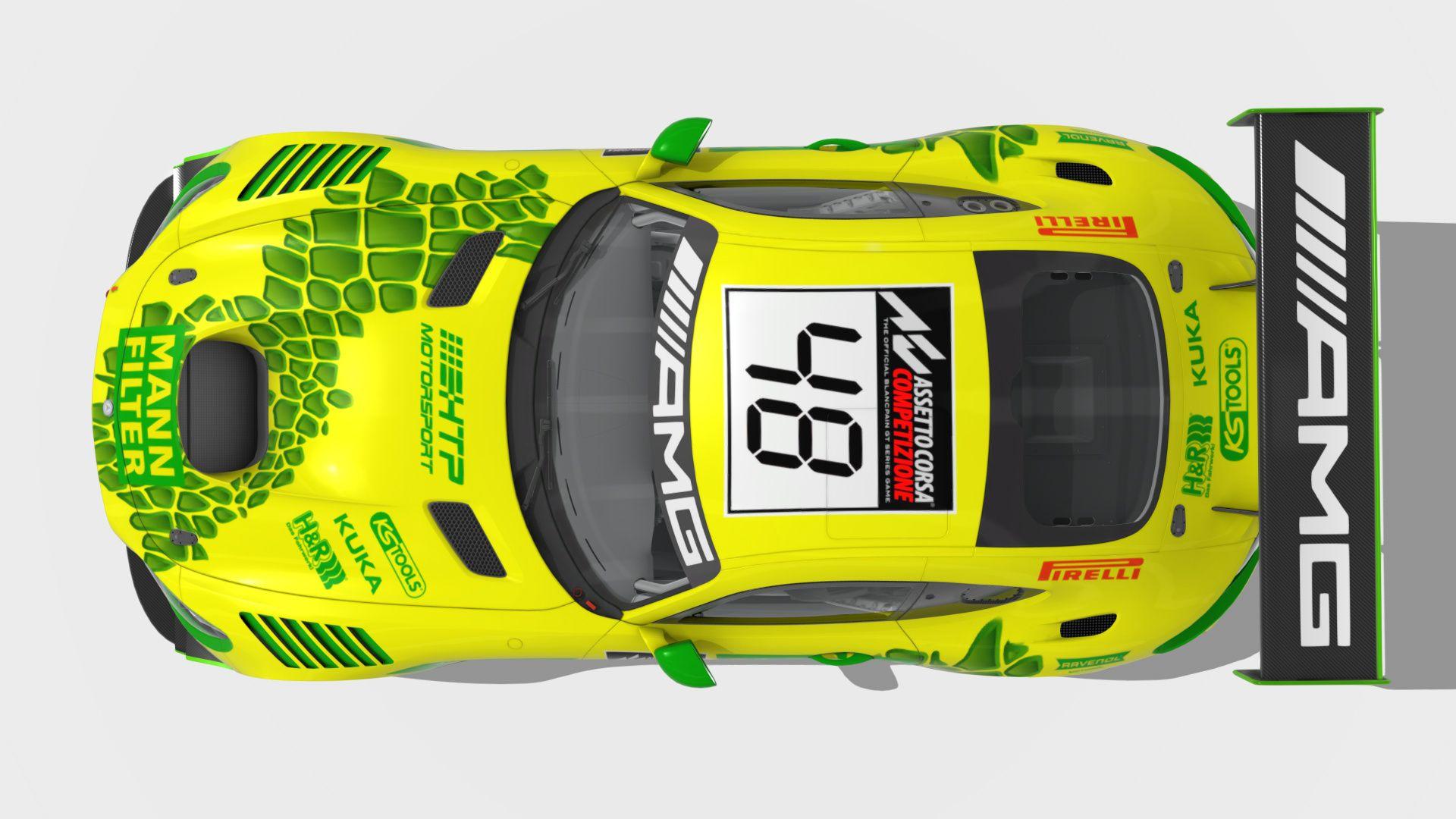 Design Entwurf Mann Filter Amg Gt3 Amg Gt3 Sport Cars