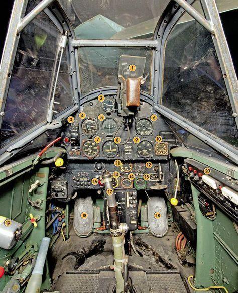 Messerschmitt Bf 109E cockpit – Aviation Classics