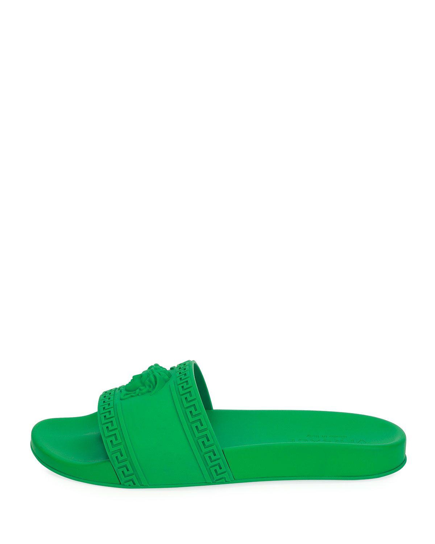 a376e94605ad Men s Medusa   Greek Key Shower Slide Sandal in 2018