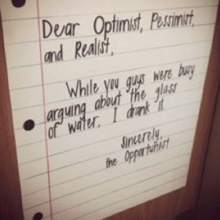 The Opportunist Quote