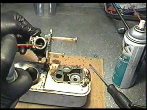 CARBURETOR Repair on Older BRIGGS & STRATTON 3 5HP Engine