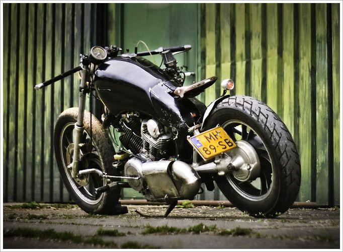 82 Yamaha Virago Xv 920 Yamaha Virago Custom Cafe Racer Yamaha