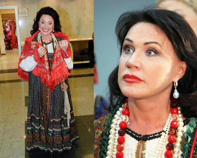 Шикарная Надежда Бабкина. .Nadezhda Babkina - a singer