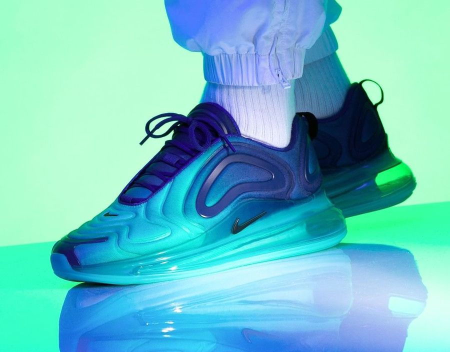 Nike Air Max 720 Sea Forest Gradient (2019) | Nike air max