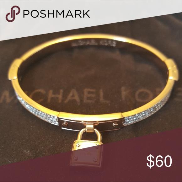 Original Michael Kors Rose Gold Bracelet Mk Jewelry Bracelets